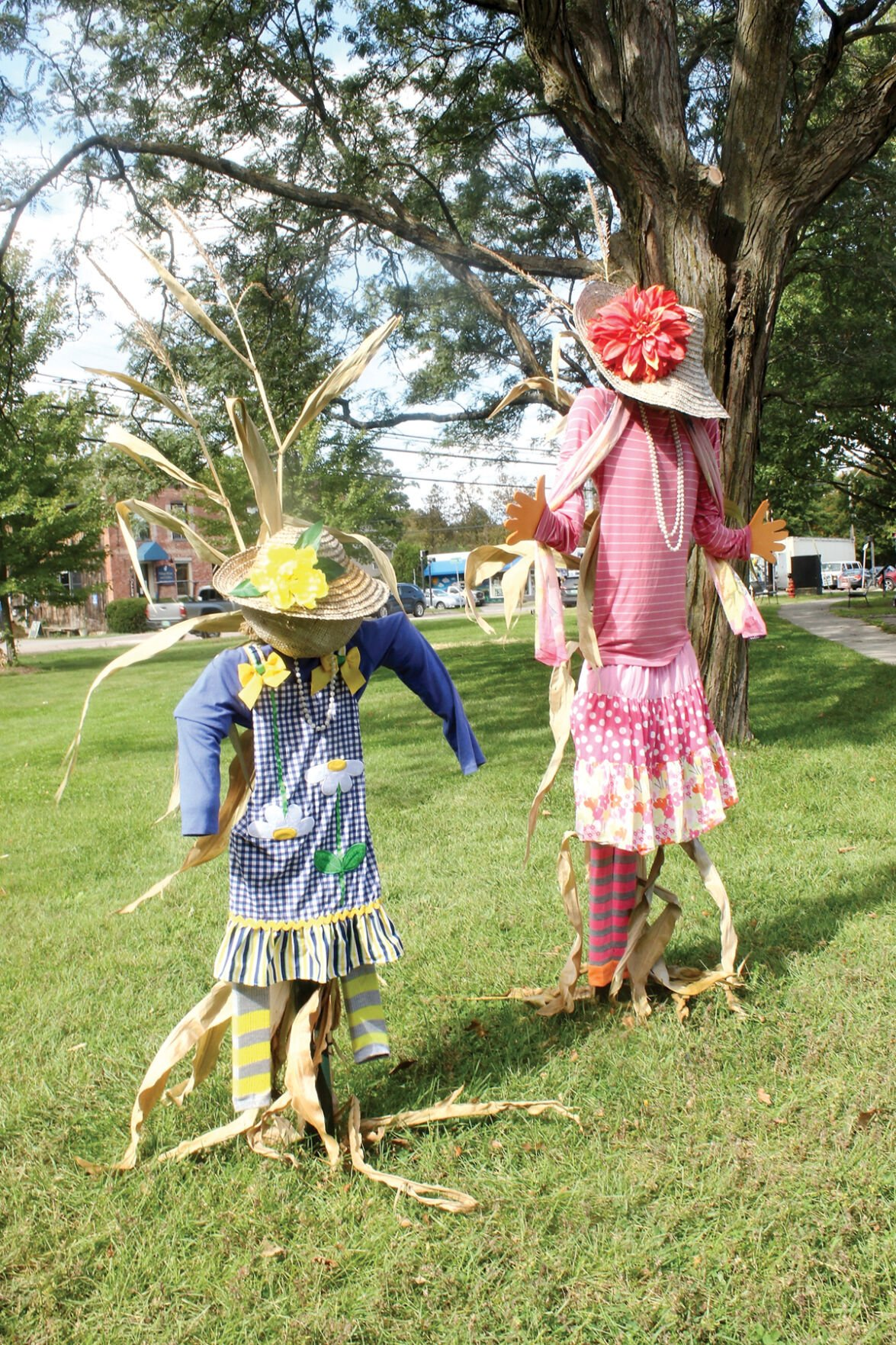 The leaf people are back in Shelburne