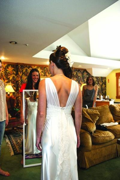 """Finding the """"perfect"""" wedding dress is one of those big projects in a woman's life she needs to get right."""