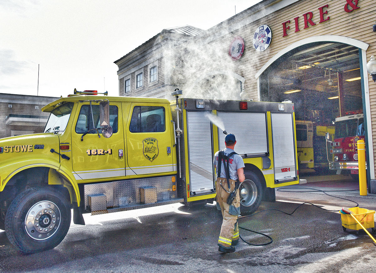 Stowe Fire Department to buy twofer truck