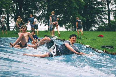 Trade in your iPhone for some slippery, splashy fun this summer