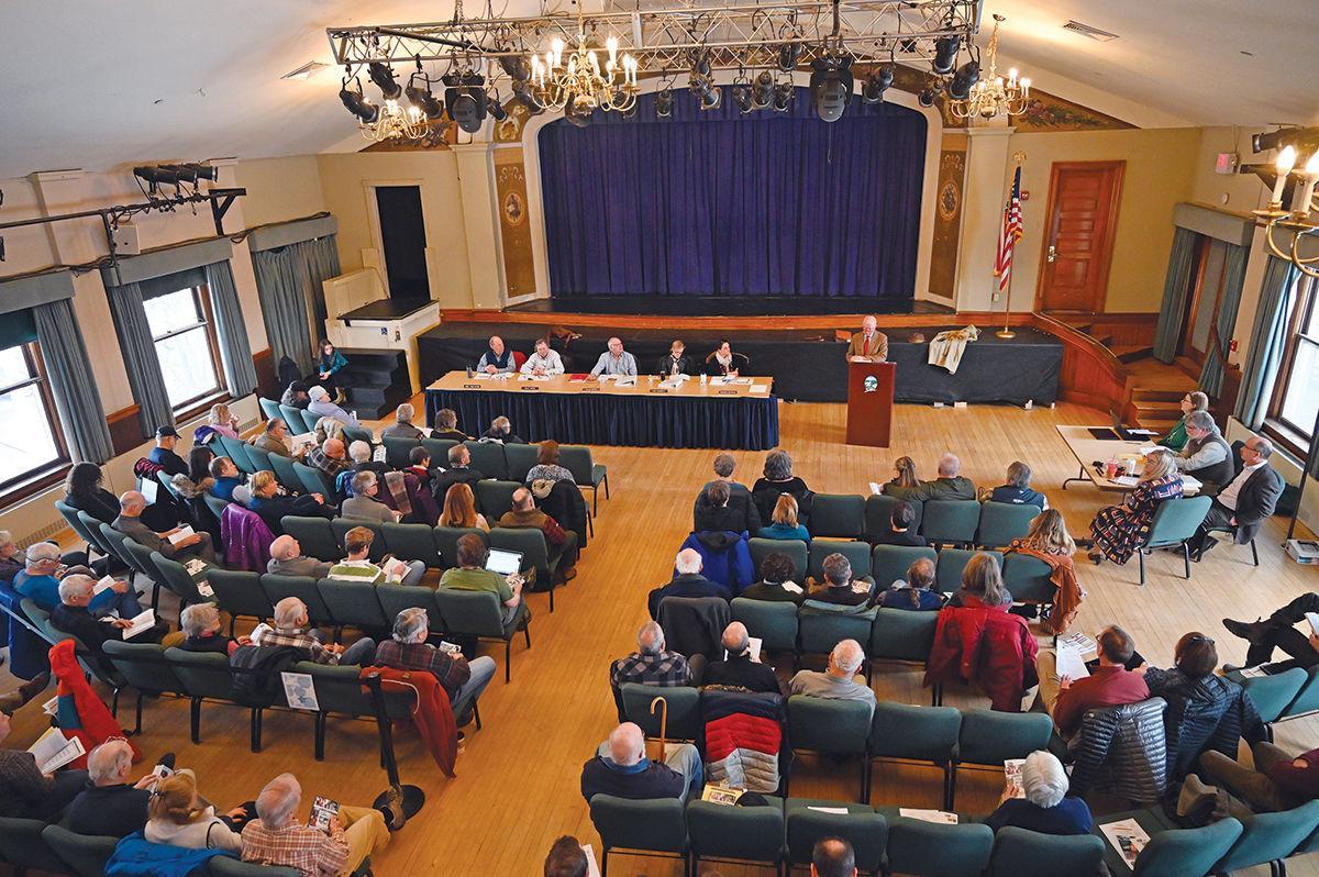 Stowe Town Meeting 2020: Akeley Memorial Building
