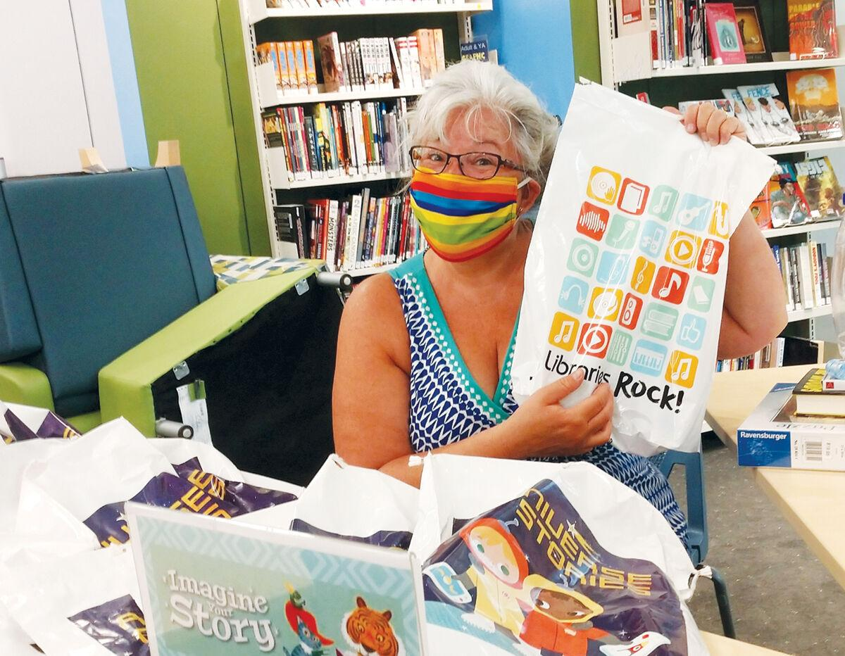 Library begins reopening