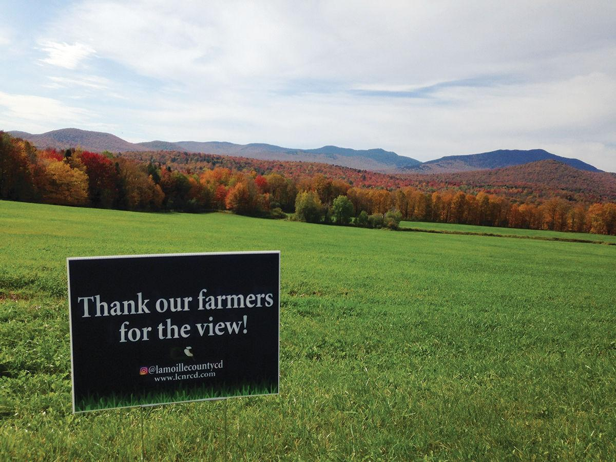 'Thank Our Farmers for the View'