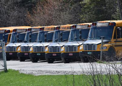 Buses on hold