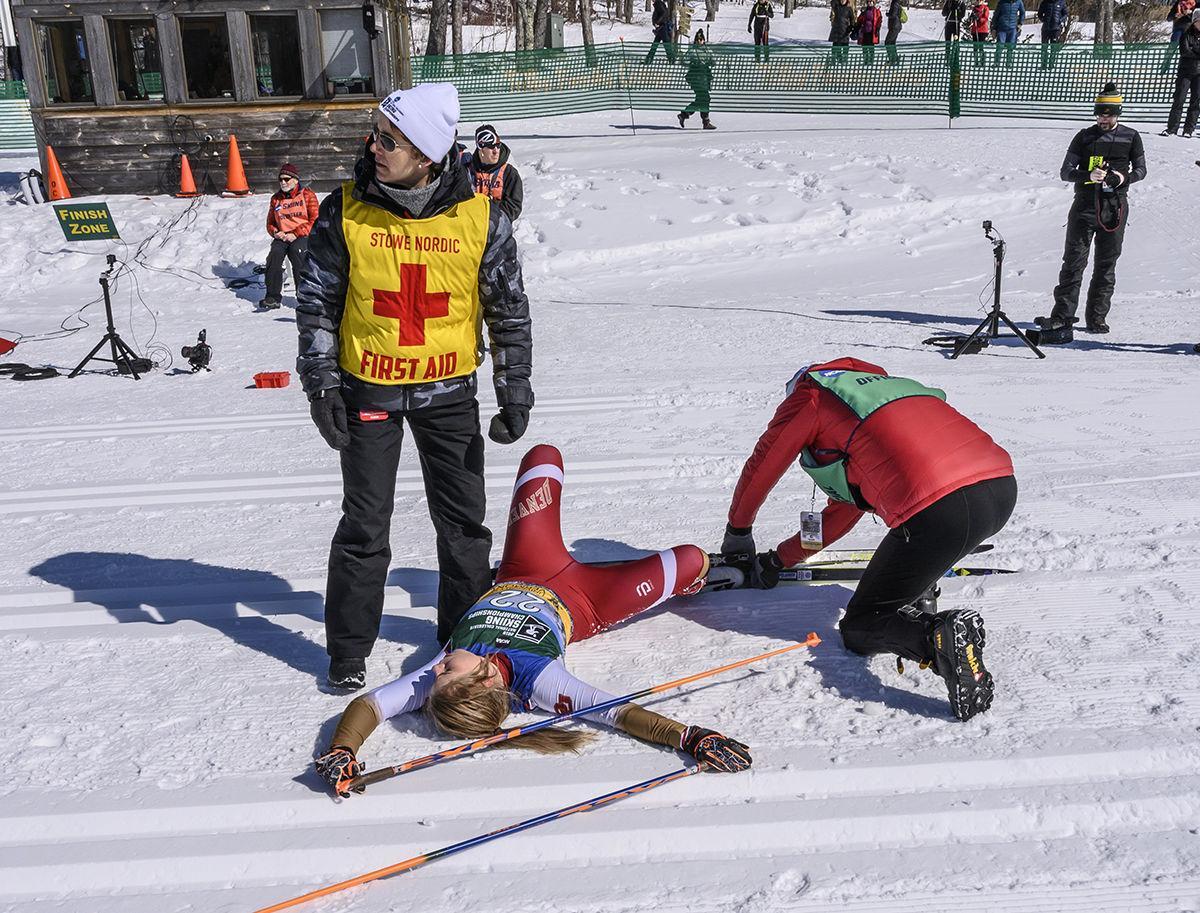 2019 NCAA skiing championships: Womens, 15K