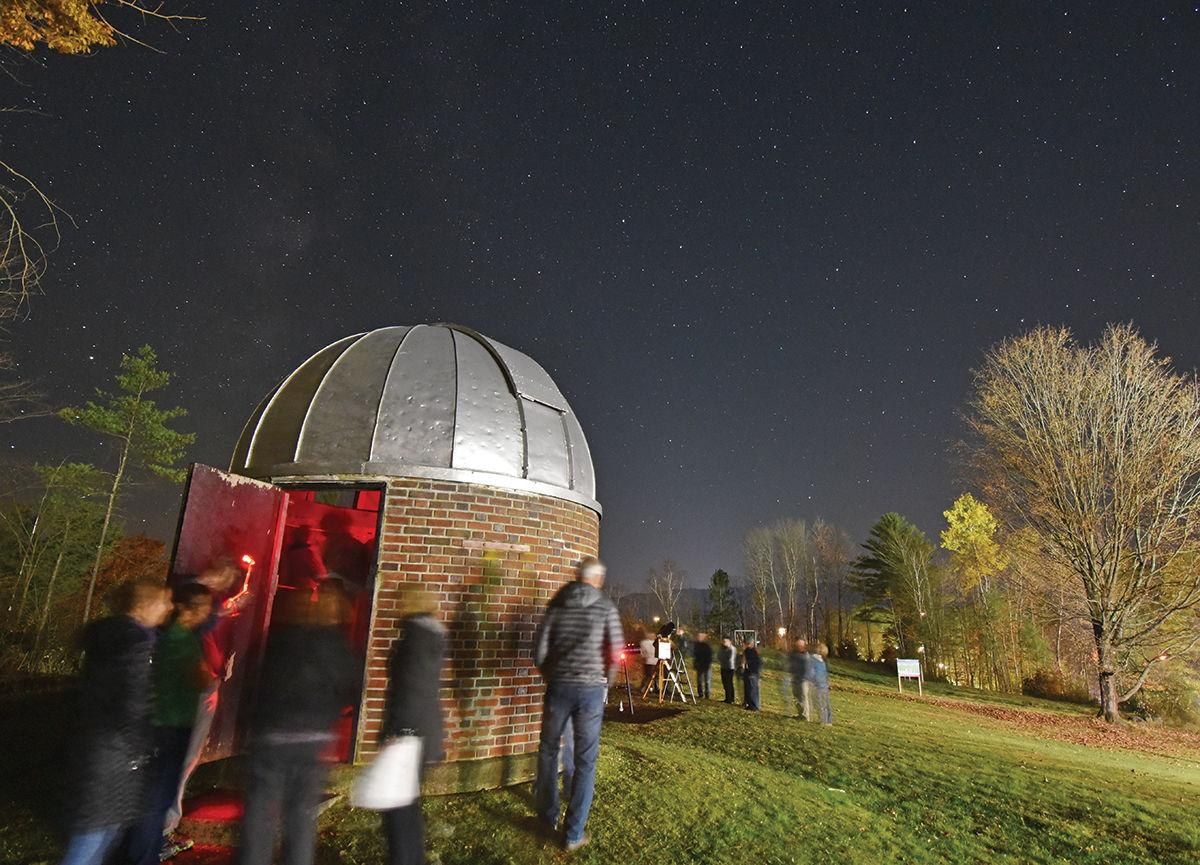 Peoples Academy Grout Observatory opens once again for space gazing