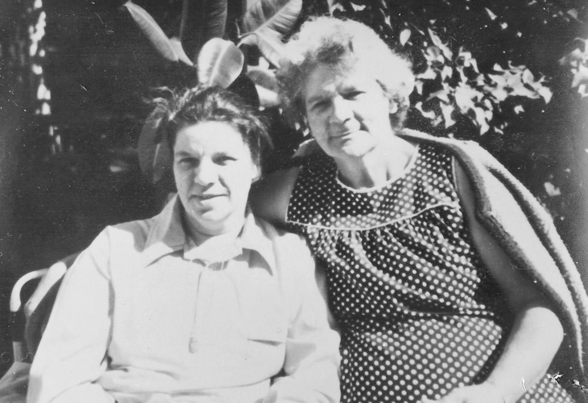 Margaret Stevens and Delia Burbo