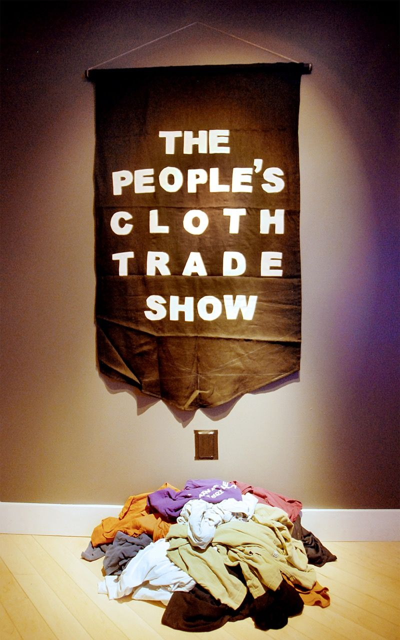 """""""People's Cloth Trade Show,"""" Carole Frances Lung"""