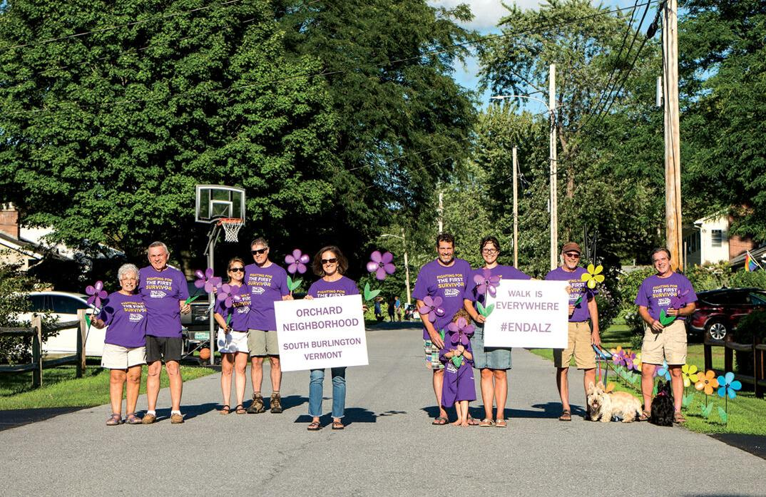 Orchard neighbors walk to raise awareness for Alzheimer's