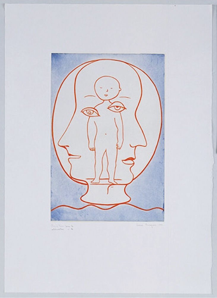 Self-portrait by Louise Bourgeois