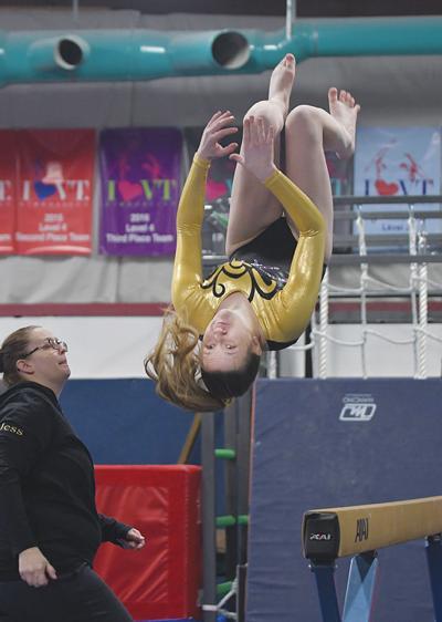 Harwood gymnastics: Allie Bryant