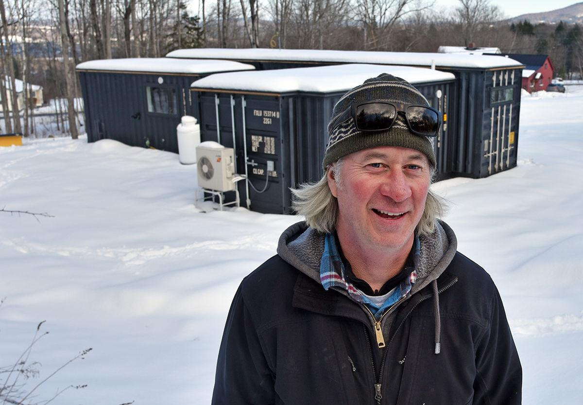 Container house: Sean Gyllenborg