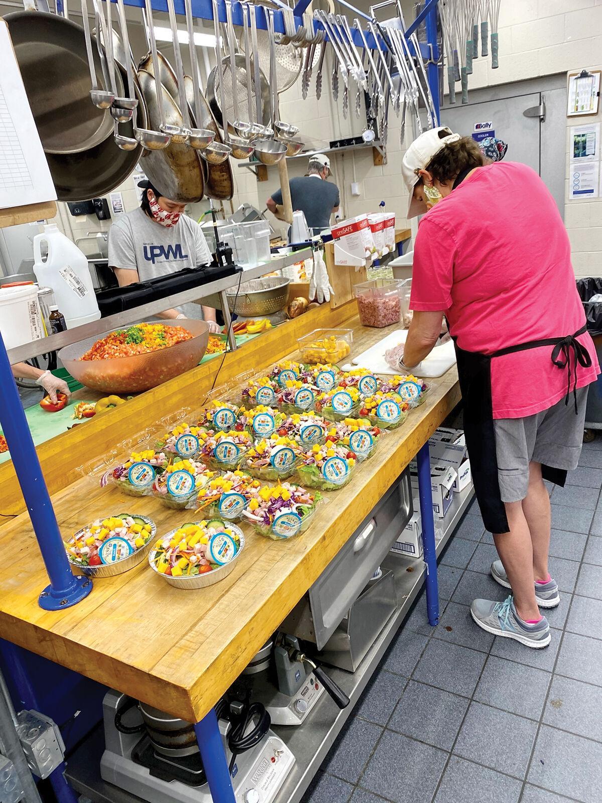 CVSD food service staff