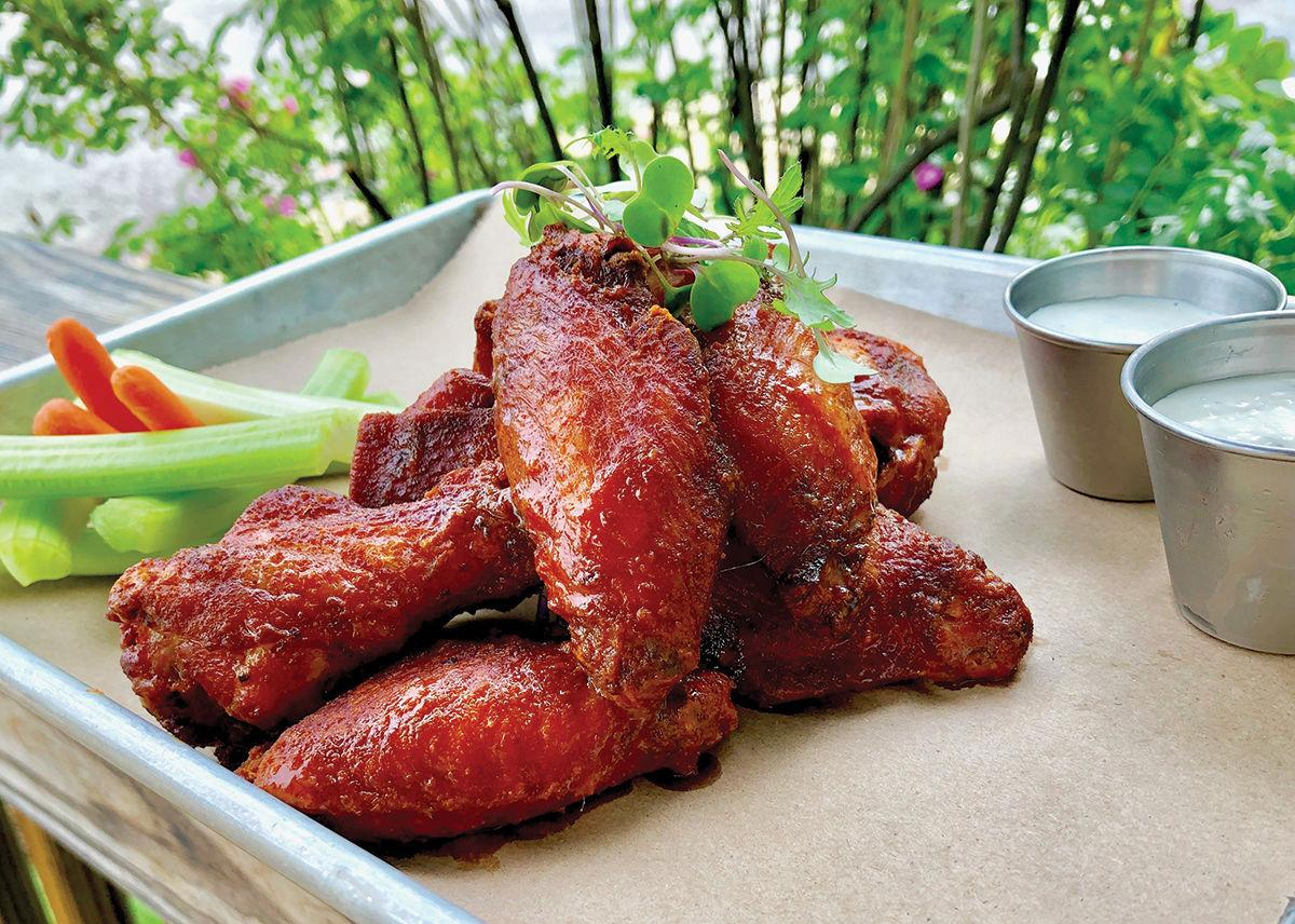 Best chicken wings: Black Diamond BBQ