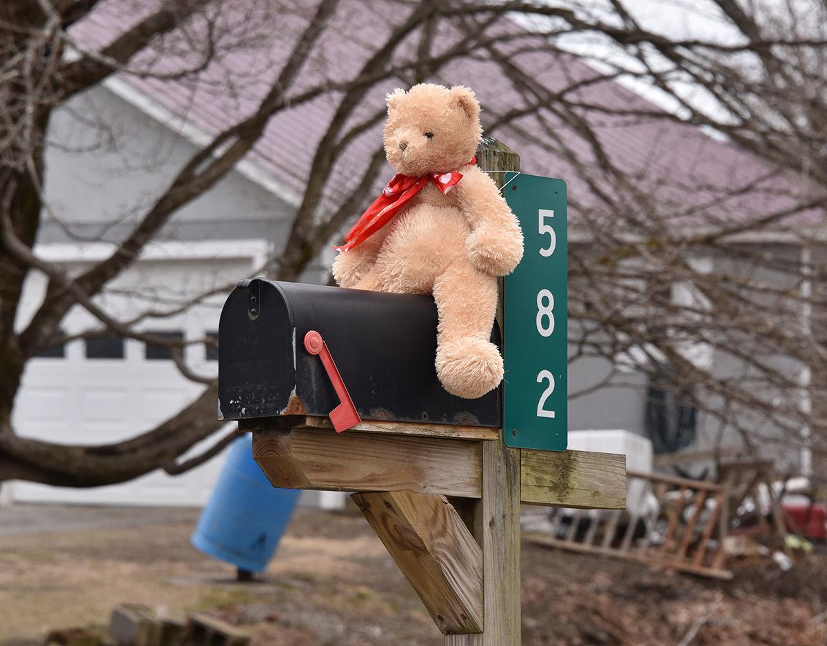 Teddy Bear, Railroad Street, Johnson