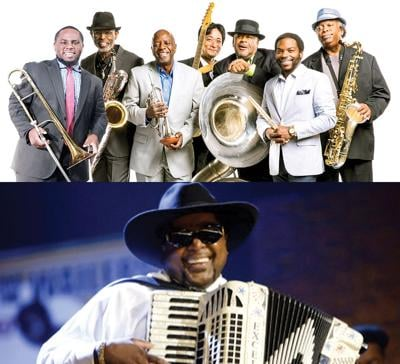 Dirty Dozen Brass Band & Nathan & the Zydeco Cha Chas at Mardi Gras