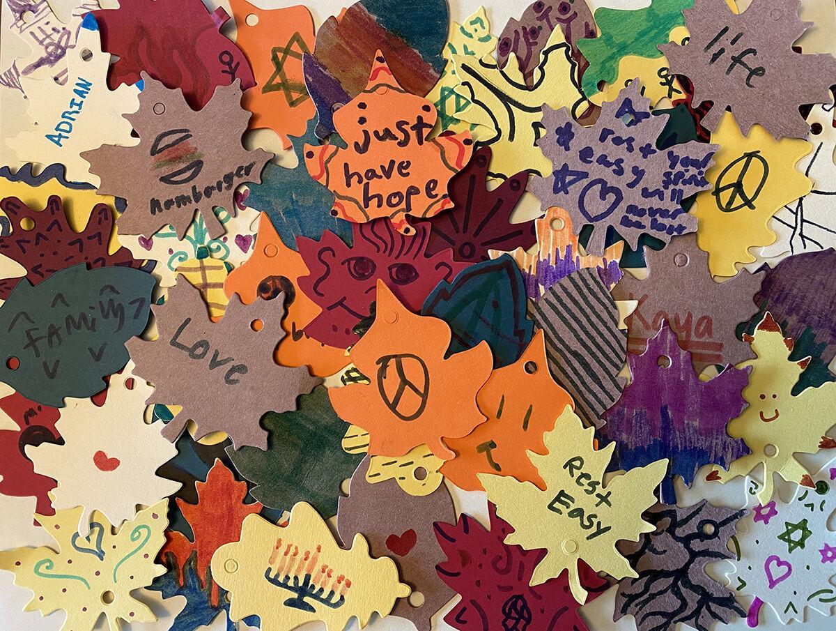 Vermont Holocaust Memorial's Leaf Project