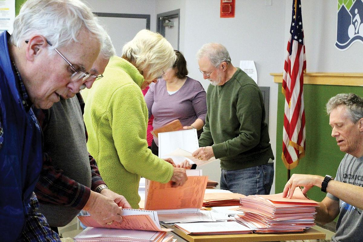 City officials separating presidential ballots from local ballots
