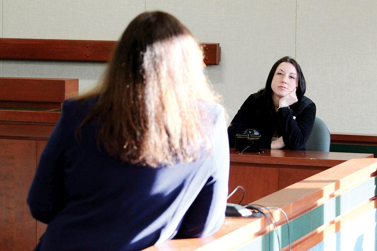 Amanda Spinks testifies