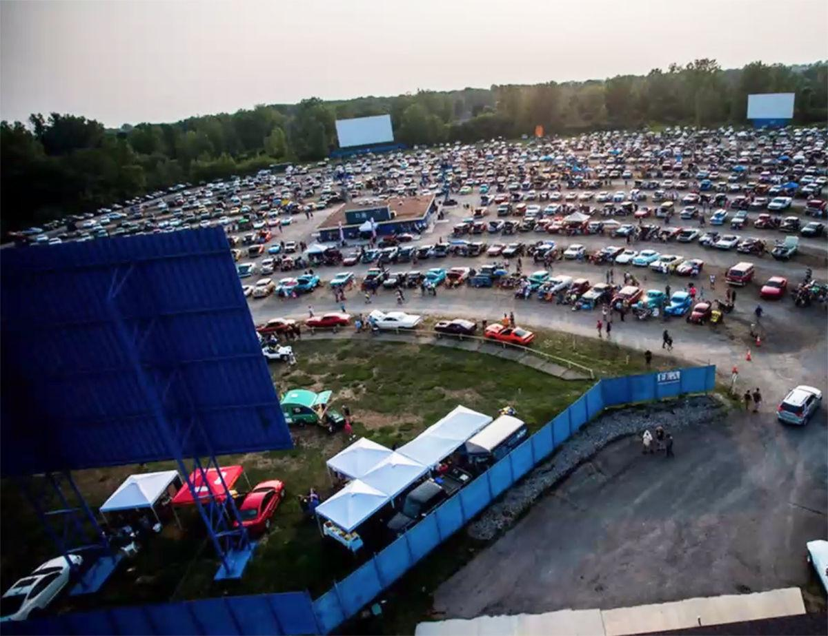 Drive-in graduation example