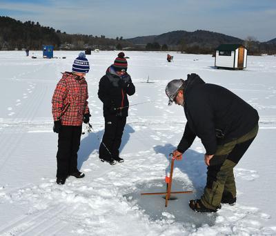 Ice fishing clinics