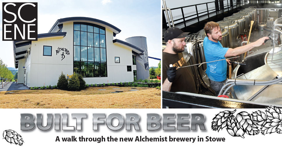 Built for beer: A walk through the new Alchemist brewery in Stowe