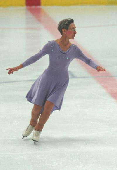 Maida Townsend began skating at age 50