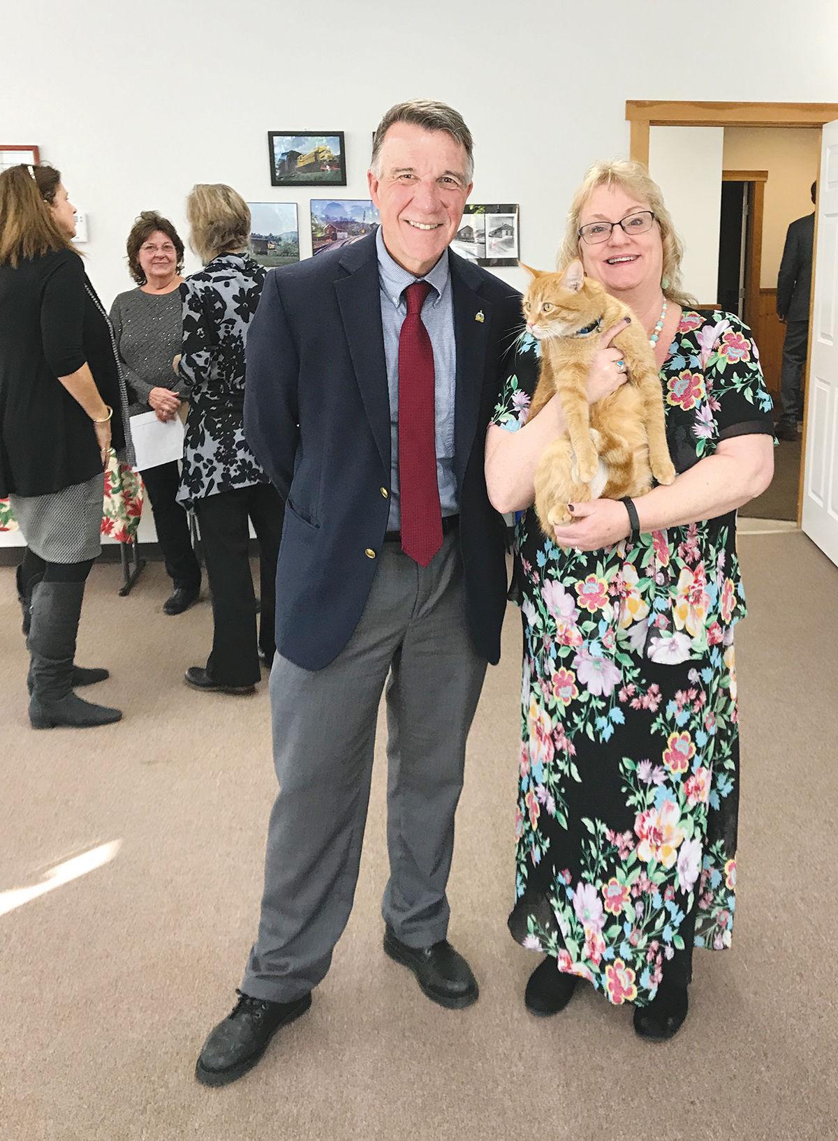 Wolcott Town Meeting 2020: Jax the Cat
