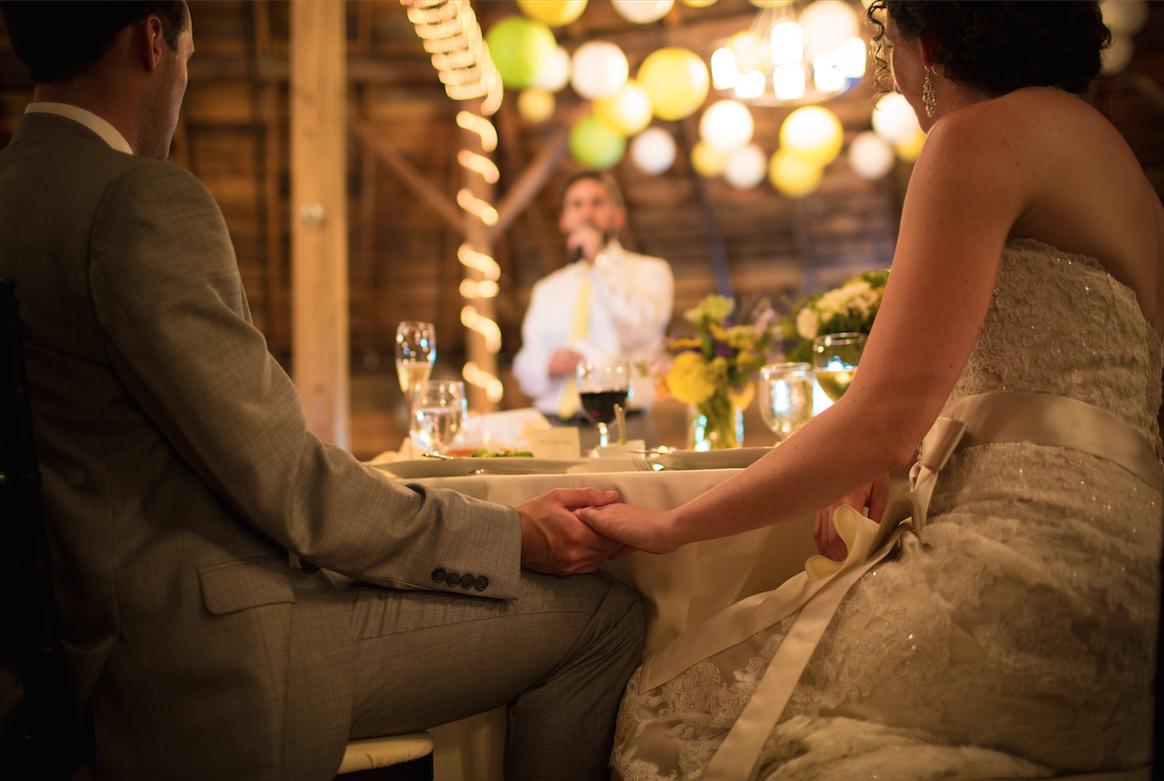 The secret to a good wedding speech: predicting the future