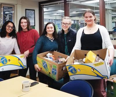 Donations for the South Burlington Food Shelf