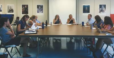 Lamoille South board's first meeting
