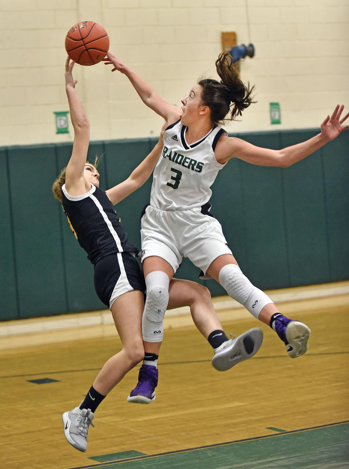 Stowe girls basketball: Abby Lehman