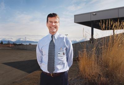 Copley Hospital's CEO Joe Woodin
