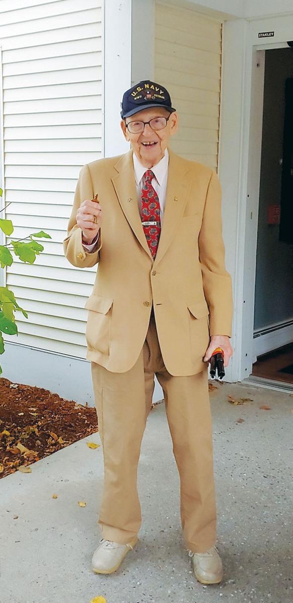Lenny Roberge 106 birthday