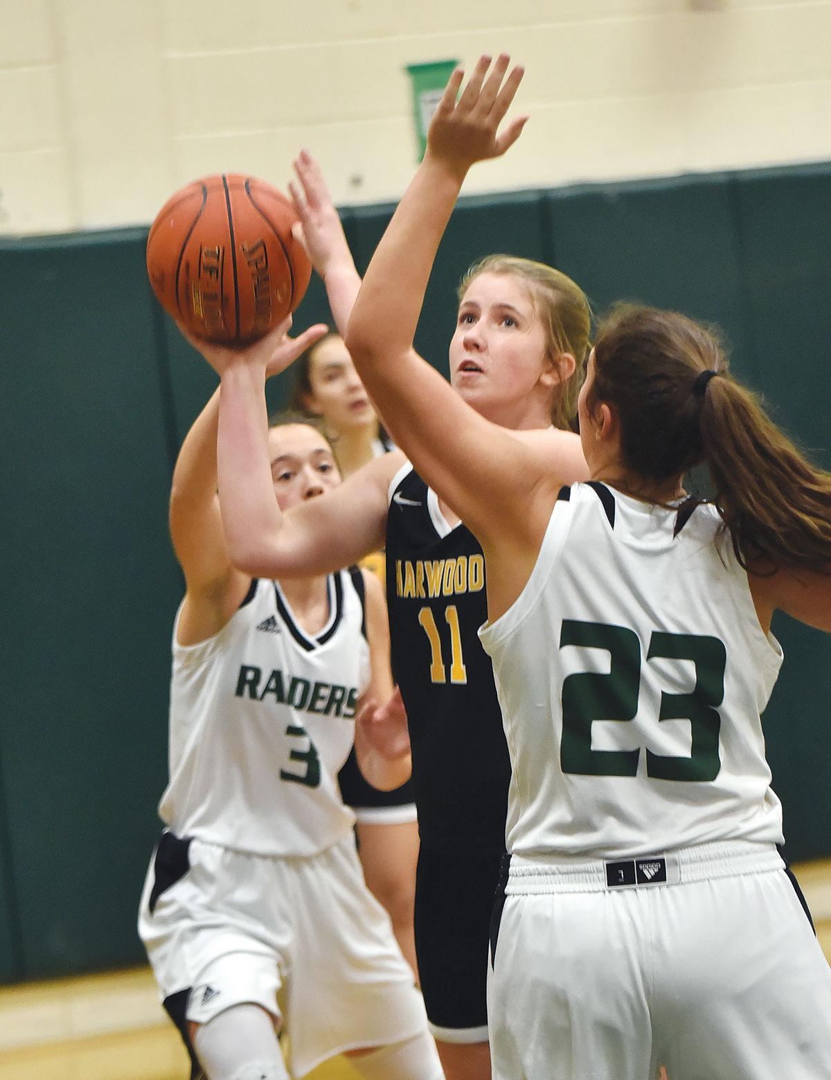Harwood girls basketball: Sarah Bartolomei