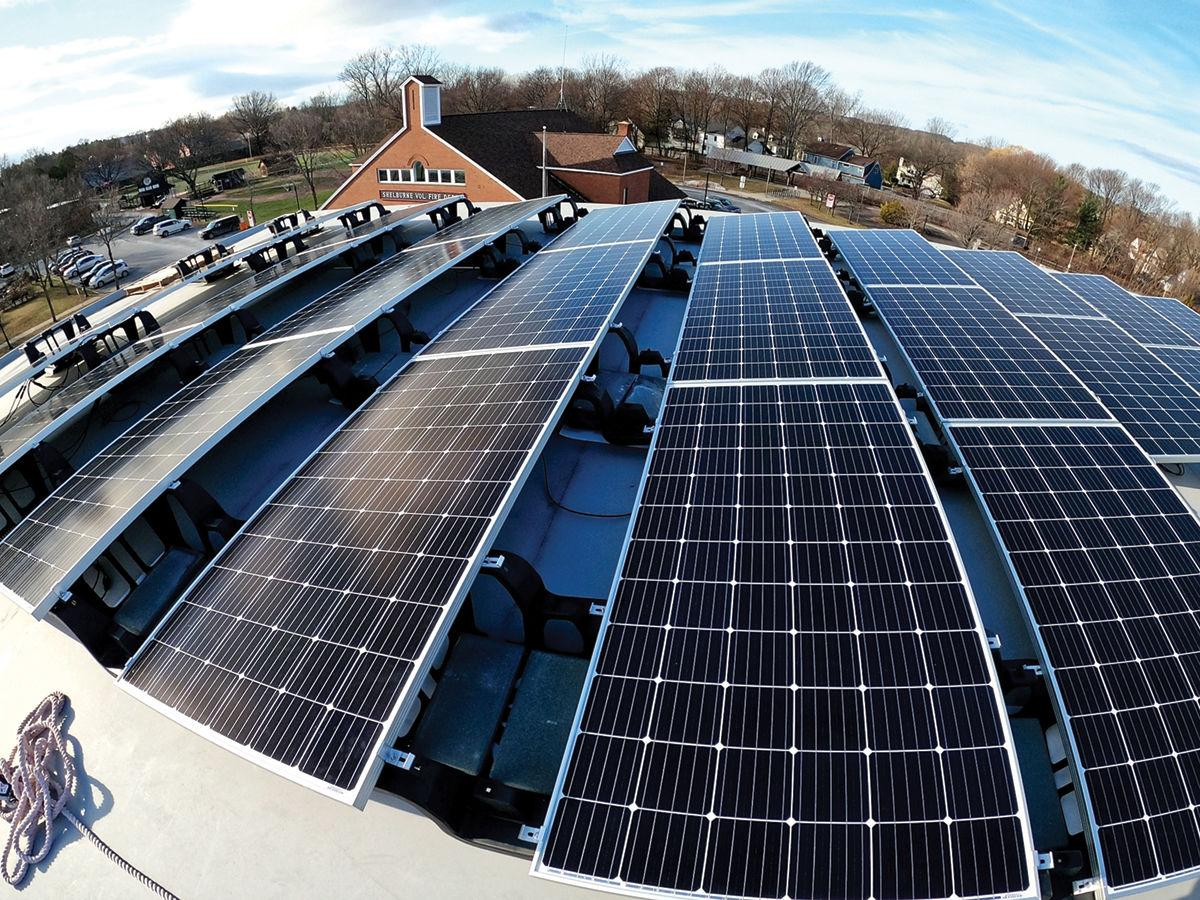 Pierson Library goes solar