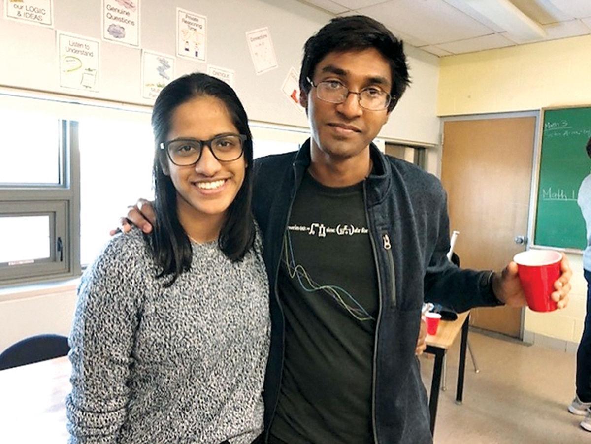 Ragulan and sister Sajani Sivakumar