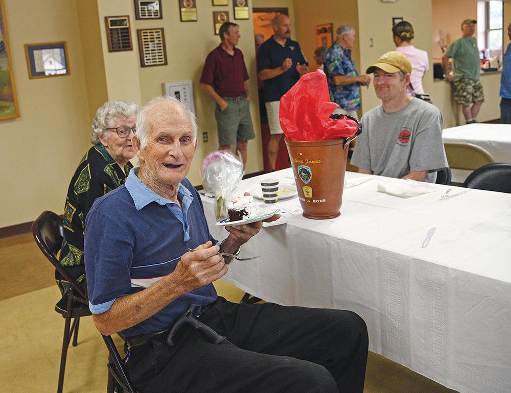 Bob Jones's 50 years of service party