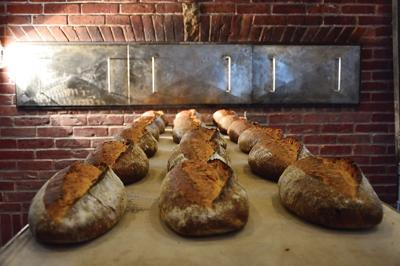 Elmore Mountain Bread loaves