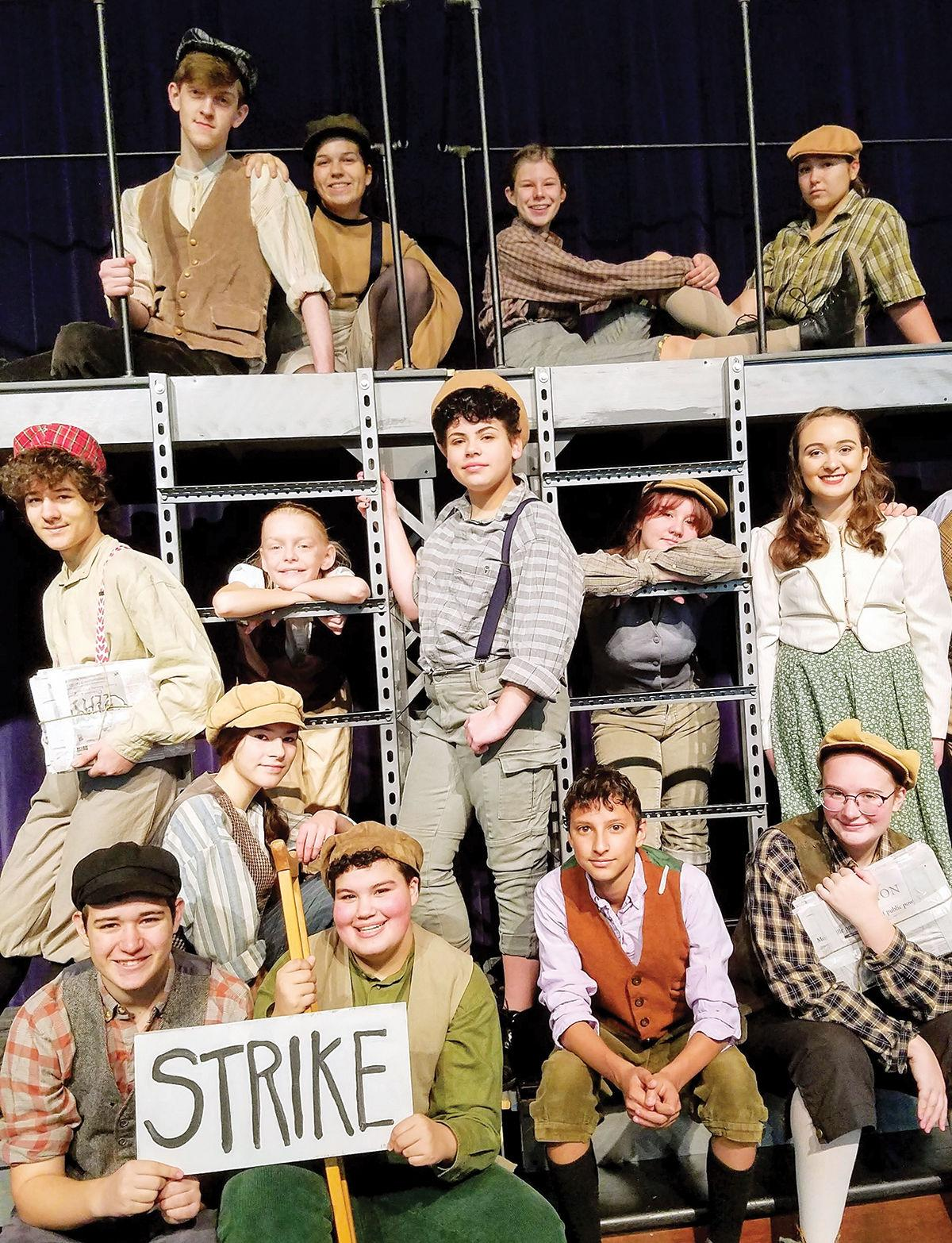 """Newsies"" cast"