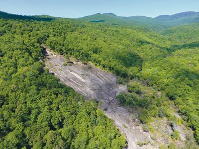 Cotton Brook landslide