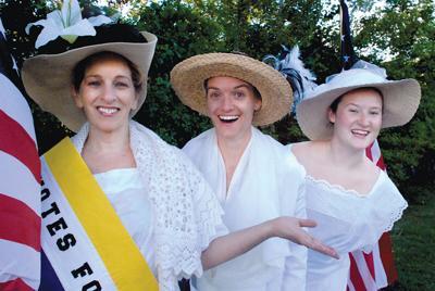 """The Suffragist Reenactment Society"""