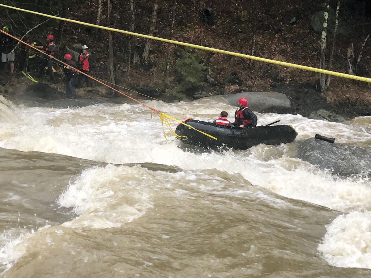 Rescue crews