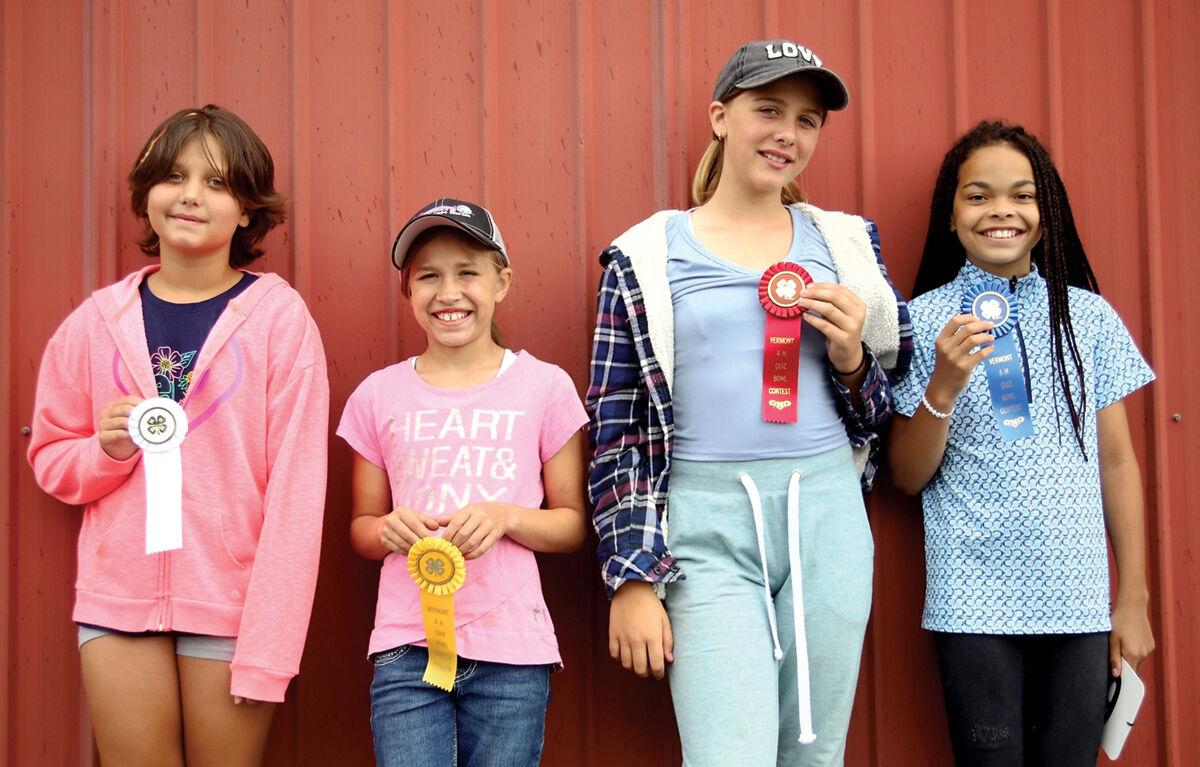 Horse quiz bowl winners