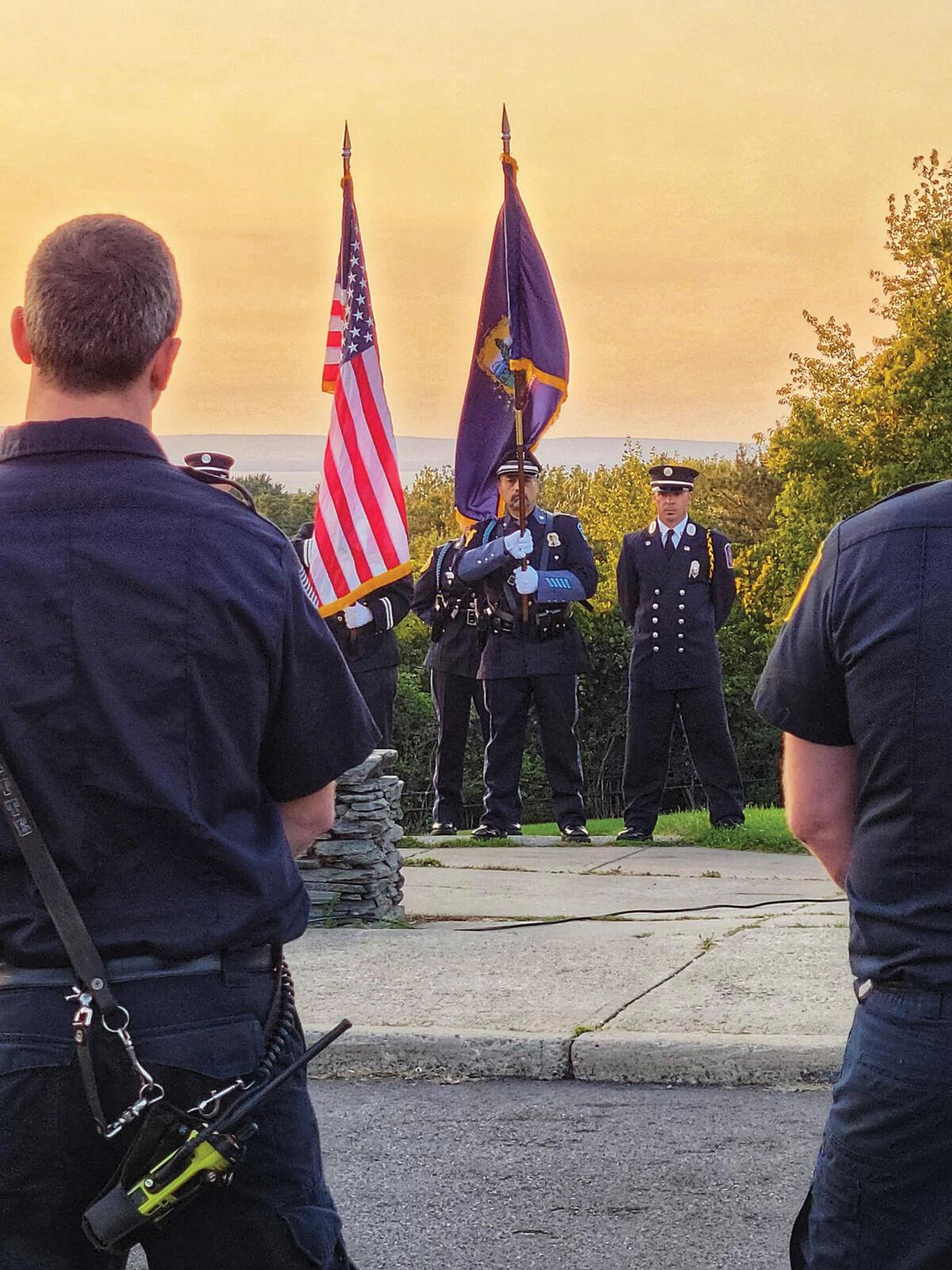 South Burlington public safety members remember the events of Sept. 11