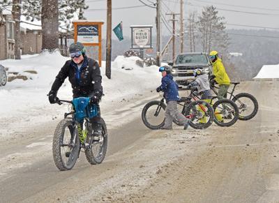 Fat bikes in Stowe