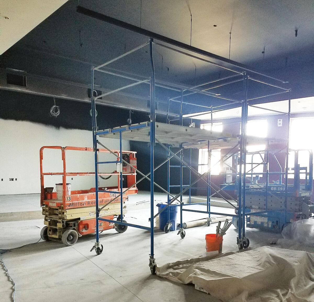 South Burlington Market Street library construction update 2