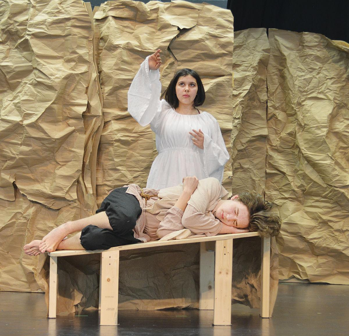 """Lamoille Union High School students present """"Huebner the Reluctant"""""""