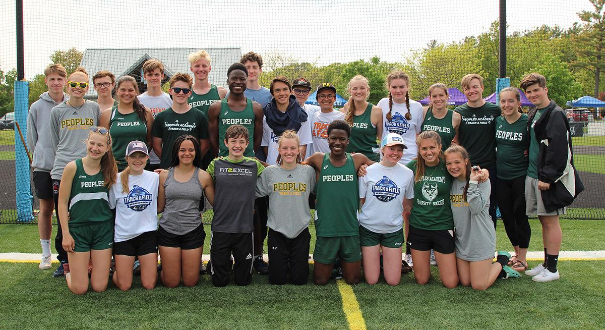 Stowe track and field team photo