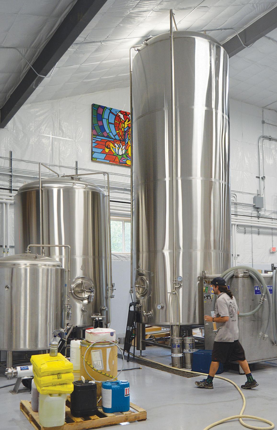 Stainless steel fermentation chamber